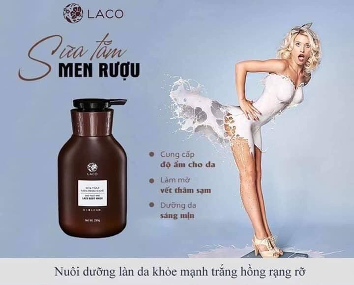 Sữa TẮm Men Rượu NA/T1/K1
