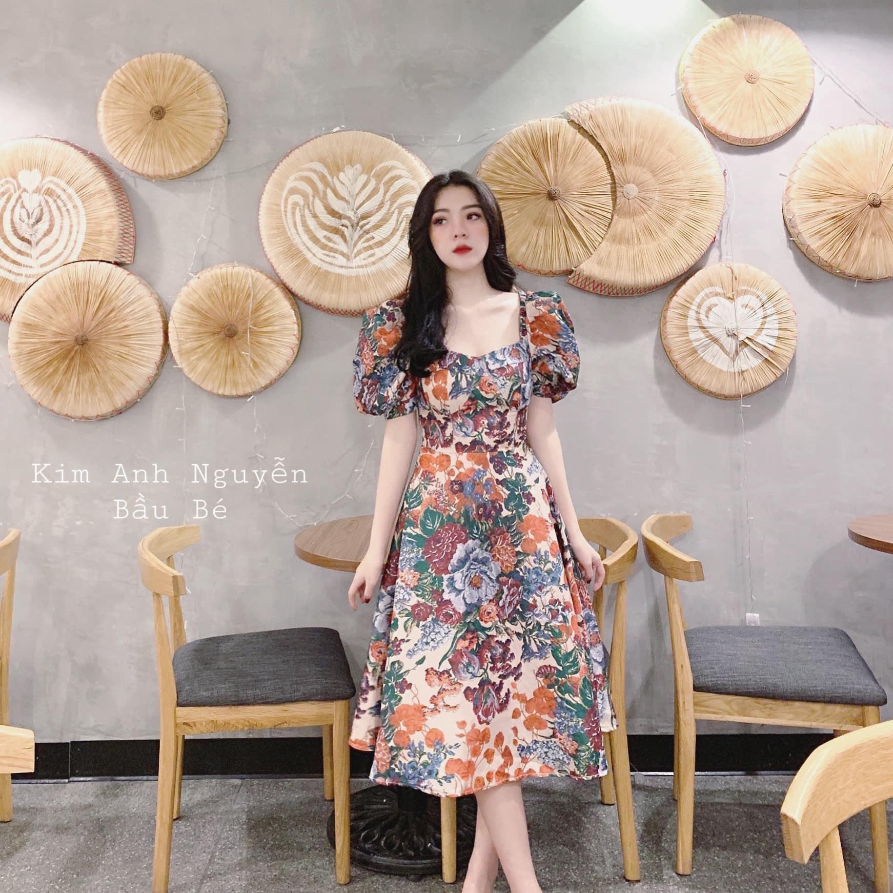 Váy Hoa Gấm