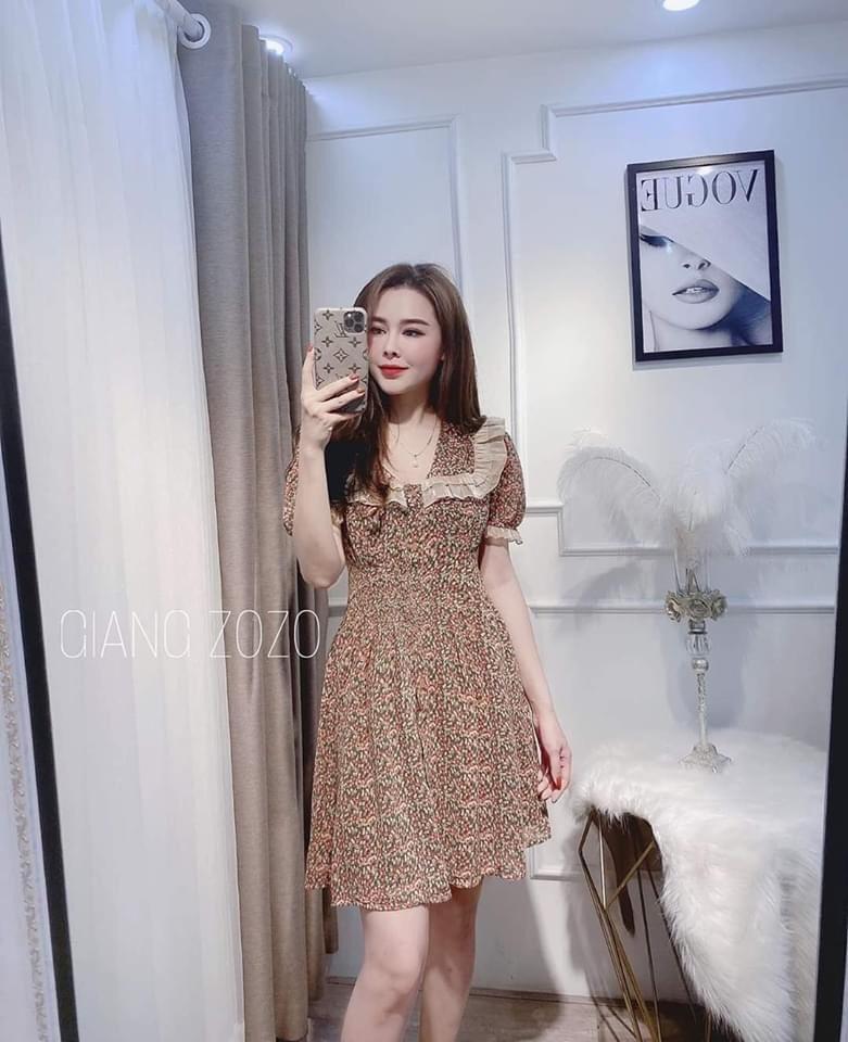 Váy Hoa Nhí Cổ Tim tủ 6