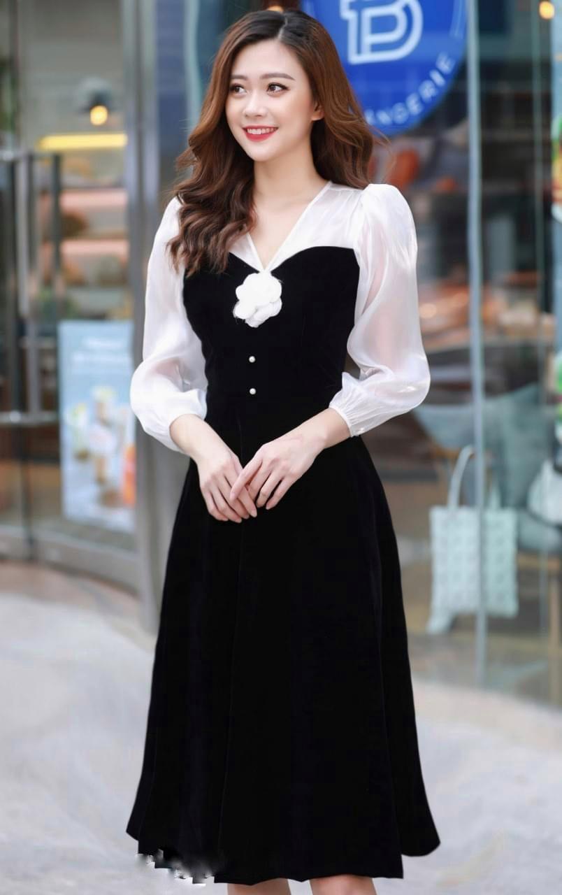 Váy Cài Hoa Ngọc NA/T2/PB/K3a