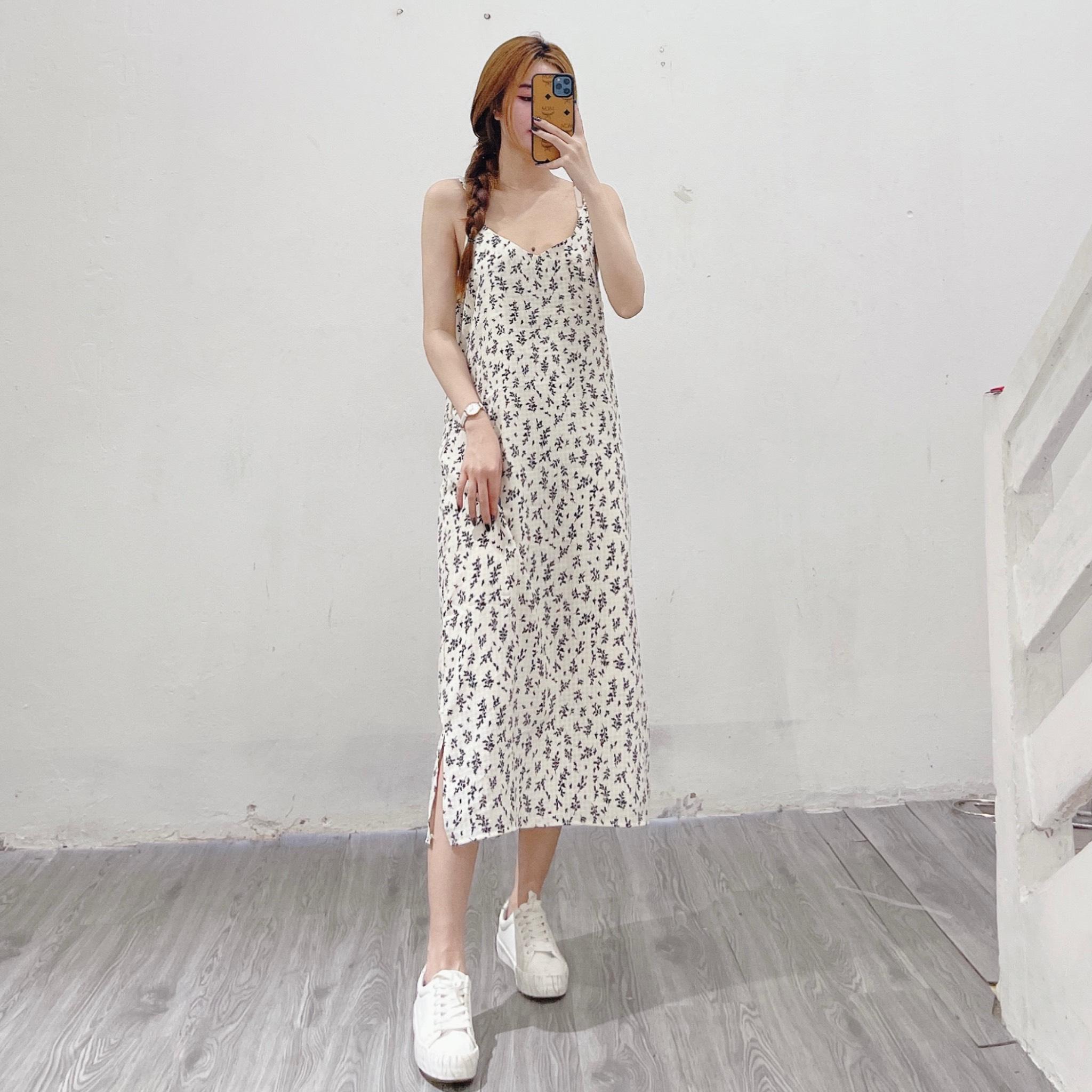 Váy 2 Dây Hoa Nhí V2157 - NB/T1/K7