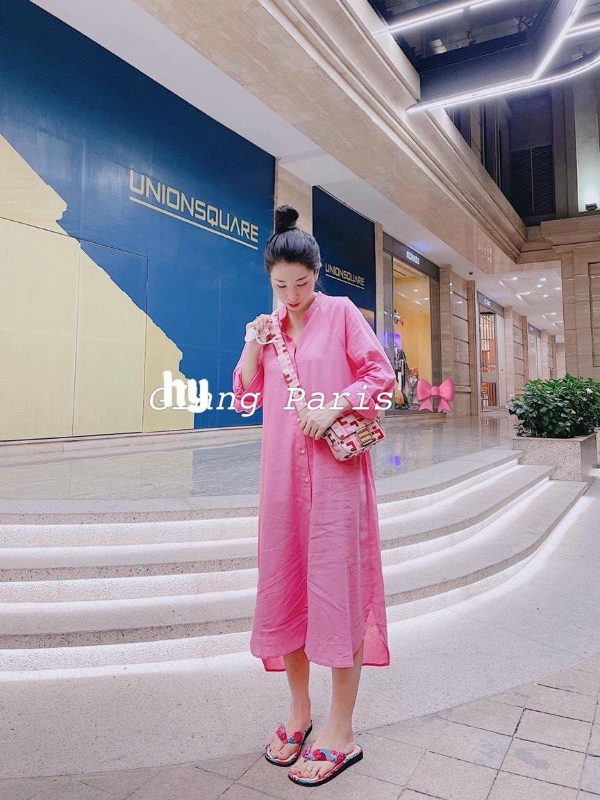 Váy Sơ Mi Midi Dáng Dài NA/T2/PA/K9