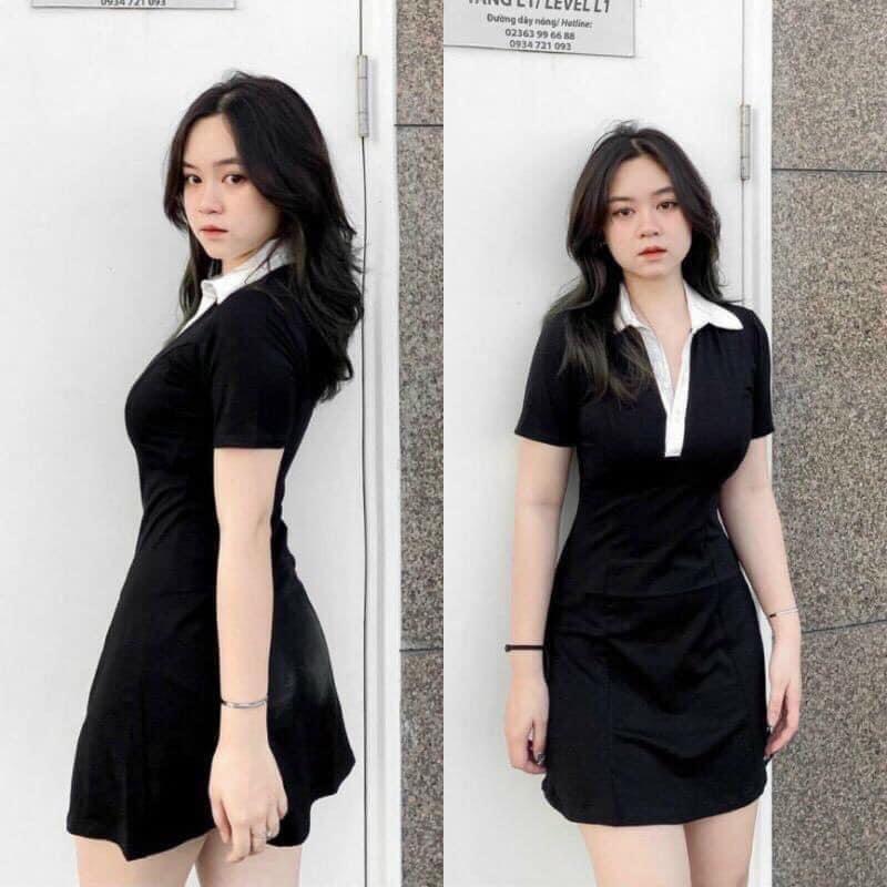Váy Polo Phối Cổ Trắng NB/T1/K28